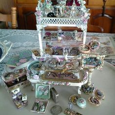 1/12 miniature jewelry display......by Anne Roder