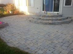 BRICK DOCTOR BILL: Brick Paver Patio and Steps Restored in Saline