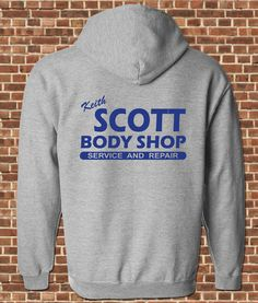 "Keith Scott Body Shop Hoodie | Community Post: 19 Things All ""One Tree Hill"" Fans Seriously Need"