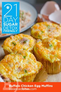 Buffalo Chicken Egg Muffins | fastPaleo Primal and Paleo Diet Recipes