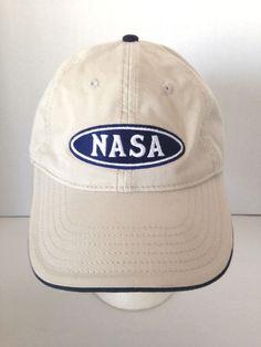 Nasa Kennedy Space Center Florida USA Stars Space Moon Adjustable Buckle Cap