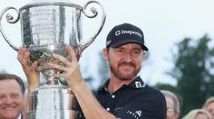 England's Danny Willett won the Masters in April, American Dustin Johnson took the US Open in June, while Swede Stenson won the Open two weeks ago.