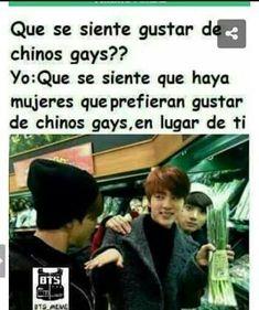 """Prefiero a un """"CHINO GAY """" que a unos idiotas de la calle"""
