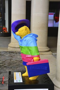 Paddington Bear Trail, Rainbow By Darcey Bussell | Flickr - Photo Sharing!