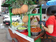 Rujak in Yangon lol