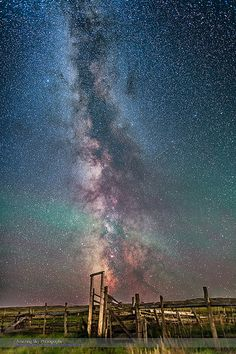 Milky Way over the 76 Ranch Corral | by Amazing Sky Photography