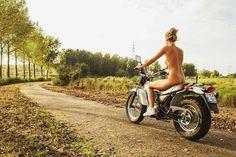 Blog of the Biker : Fat Tire Enduro Trial Revival Suzuki RV 200 VanVan Mini Adventure cousin to the Yamaha TW 200