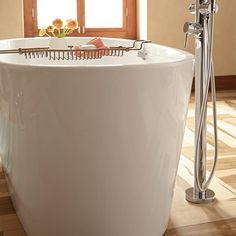 Coastal Serin Freestanding Soaker Tub American