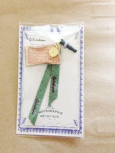 革パーツで出来たイヤフォンジャックです。 ハンドメイド、手作り、手仕事品の通販・販売・購入ならCreema。
