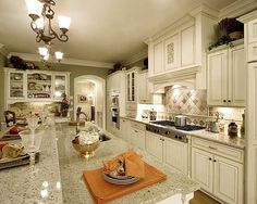 loved this house layout, especially the kitchen