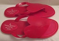 Vivienne Westwood Anglomania Melissa Flip Flop Shoes Size 7 Ladies Authentic   eBay