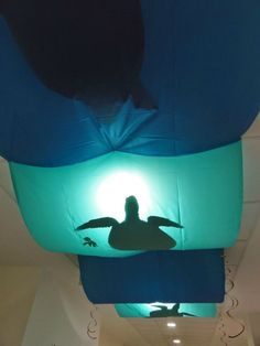 Ceiling Decorations, Finding Dory Birthday Party Ideas | Pretty My Party