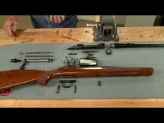 Gunsmithing- Complete Tear Down and Disassembly of a Remington 700 Weapons Guns, Guns And Ammo, Remington Model 700, Bolt Action Rifle, Hunting Guns, Tear Down, Viera, Firearms, Hand Guns