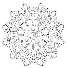 crochet coaster chart by Banphrionsa Motif Mandala Crochet, Crochet Doily Diagram, Crochet Doily Patterns, Crochet Chart, Crochet Doilies, Crochet Flowers, Filet Crochet, Blog Crochet, Crochet Round