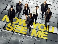 Now You See Me. Out August 8. Jessie Eisenberg, Isla Fisher, Mark Ruffalo, Morgan Freeman. Must see, looks awesome.