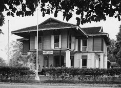 Headquaters of the Tanjong Malin Home Guards. Malayan Emergency, Kuala Lumpur Travel, Lee Kuan Yew, Straits Settlements, Home Guard, Dutch East Indies, Armed Forces, World War Ii, Old Photos