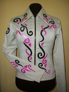Western Horse Show Shirt Jacket