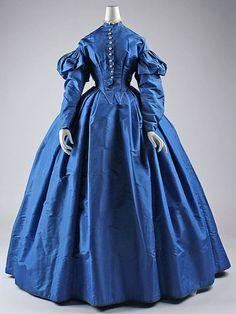 Dress  1867  The Metropolitan Museum of Art. Such a Gorgeous color!