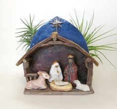 Hey, I found this really awesome Etsy listing at https://www.etsy.com/listing/60929833/christmas-nativity-scene-miniature