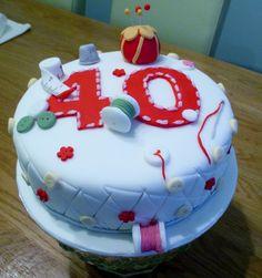 Craft cake for Julie