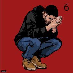 VIEWS FROM THE 6IX! Drake .. (@champagnepapi ) #Art #IfYoureReadingThisITsTooLAte #illustration