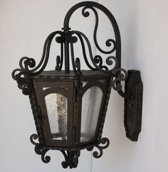 Outdoor/Exterior Wall Lighting-Lights of Tuscany - side of front door, outside DR, outside FR