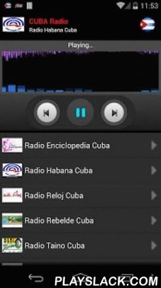 RADIO CUBA Android App - playslack.com , Listen all Cuba radio stations on your mobile.For more stations, just send me an email an I will add them in the next update.Find the following stations:- Radio Enciclopedia Cuba- Radio Habana Cuba- Radio Reloj Cuba- Radio Rebelde Cuba- Radio Taino Cuba- Radio Progreso Cuba- CMBF Radio Cuba- Habana Radio Cuba- Radio Marti Cuba- Radio VOA News Cuba- Radio Miami- Radio Grito de Baire Cuba- Radio Cubana- Hot 104.9 FM Cuba- TV Cubasi Cuba- Cubania- Radio…