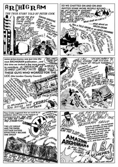 Archigram, The True Story Told by Peter Cook.