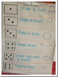Doodle Bugs Teaching {first grade rocks!}: Five for Friday {Linky Party…January 18th} roll a snowman with teams on the whiteboard - fun!