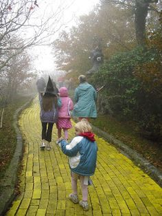 @Heidi Haugen Haugen Haugen Hartmann check this place out!   Land of Oz in Beech Mountain NC – There Really is a Yellow Brick Road!   Travel NC With Kids