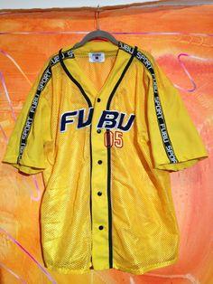 FUBU 05 sport mesh jersey sz XL by STEEZKEYS on Etsy, $55.00 /// www.art-by-ken.com