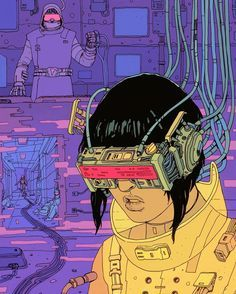 Sci-Fi, Dystopia and Cyberpunk: Get to Know Josan Gonzalez& Art Arte Cyberpunk, Cyberpunk 2077, Cyberpunk Aesthetic, Arte Sci Fi, Sci Fi Art, Science Fiction, Sci Fi Kunst, Character Art, Character Design