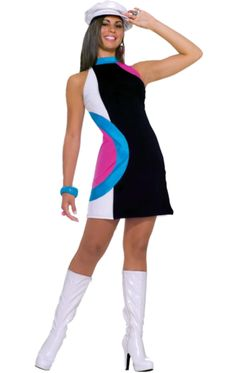 Adult Mod Doll Sexy 60s Costume