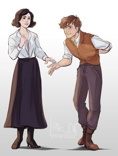 Newtina being the best ship ever! I wonder what Newt is doing...