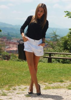 Blanco y Negro traje | Miradas y zapatos