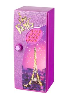 I Love Paris Digital Mini Locker (original price, $24.90) available at #Justice