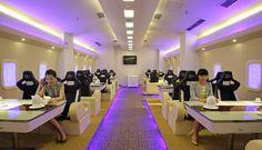 Airbus 380-restaurant