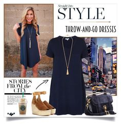 Easy Peasy: Throw-and-Go Dresses by annabu on Polyvore featuring Splendid, Chloé and Proenza Schouler