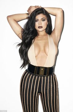 All grown up: Kylie Jenner posed for controversial photographer Terry Richardson for the new issue of Galore