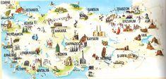The top five destinations in Turkey. Istanbul, Mediterranean & Aegean Coast, Cappadocia & The Black Sea Coast. Pamukkale, Turkey Tourism, Turkey Travel, Marmaris, Antalya, The Tourist, Visit Turkey, Capadocia, Day Tours