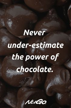 You have the power with dark chocolate! Chocolate Love Quotes, Chocolate Humor, Dairy Milk Chocolate, I Love Chocolate, Chocolate Lovers, Bakery Quotes, Chocolate Drawing, Foodie Quotes, True Feelings Quotes