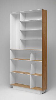 D.357.1 D.357.2 Bookshelves and multimedia - Molteni