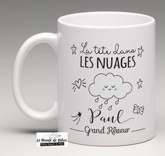 Mug personnalisé thème nuage                                                                                                                                                                                 Plus