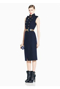 Alexander McQueen Pre-Fall 2011 Collection Slideshow on Style.com