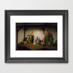 Nativity Scene by Sarah Shanely Photography $31.00