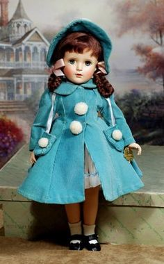 """COMPOSITION """"MARGARET O'BRIEN"""" CELEBRITY DOLL BY MADAME"""