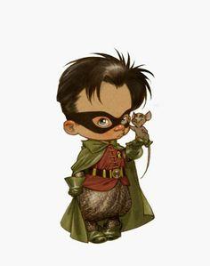 Little Superheroes World by Alberto Varanda