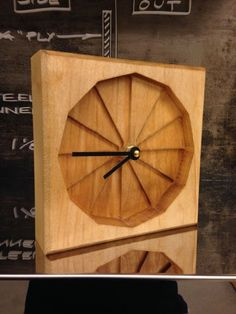 Step by Step Clock- 2 sided CNC wood surfacing with Shopbot router #woodworking