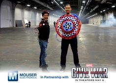 Mouser Electronics Partners with Marvel to Bring Super Hero Tech to Life |