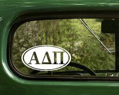 Alpha Delta Pi Decal Sticker Sorority